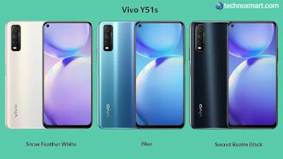 Vivo Y51s Launched With Triple Rear Cameras, 4500mAh Battery: Check Price, Specifications Here