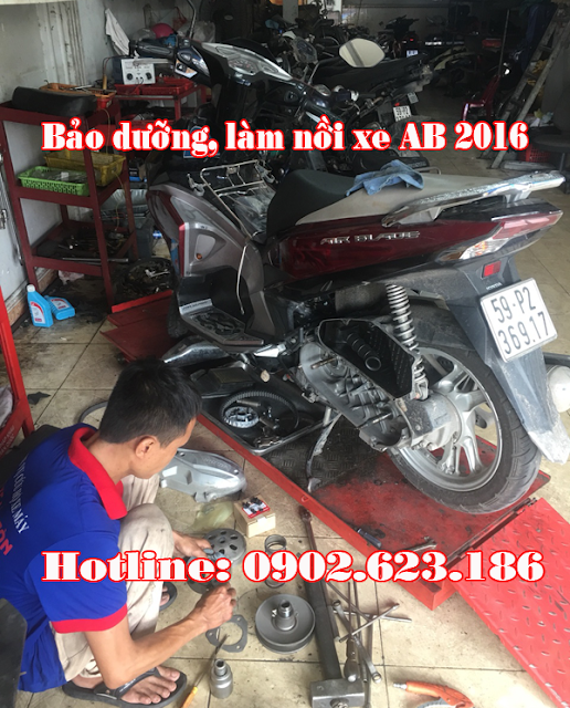 Sửa chữa, làm nồi xe Airblade 125 chuyên nghiệp tại HCM