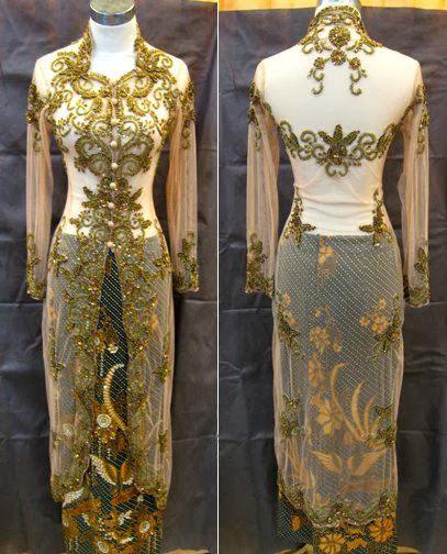 model+baju+kebaya+modern