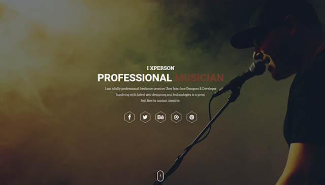 WordPress portfolio blog theme