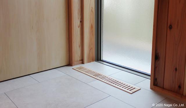 床がらりの施工画像