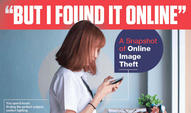 A Snapshot Of Online Image Theft
