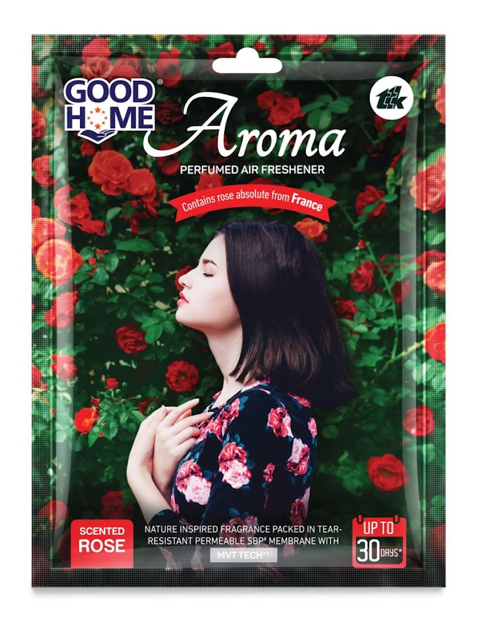Product  launch - Good Home Aroma, a unique range of Air Fresheners.