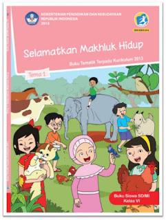 download gratis buku tematik kelas 6 tema 1