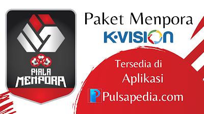 Harga Paket Piala Menpora K Vision