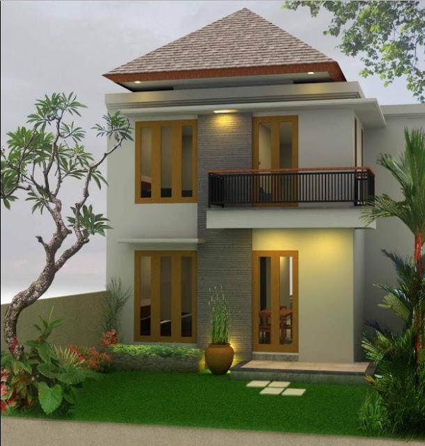 design rumah kecil 2 lantai