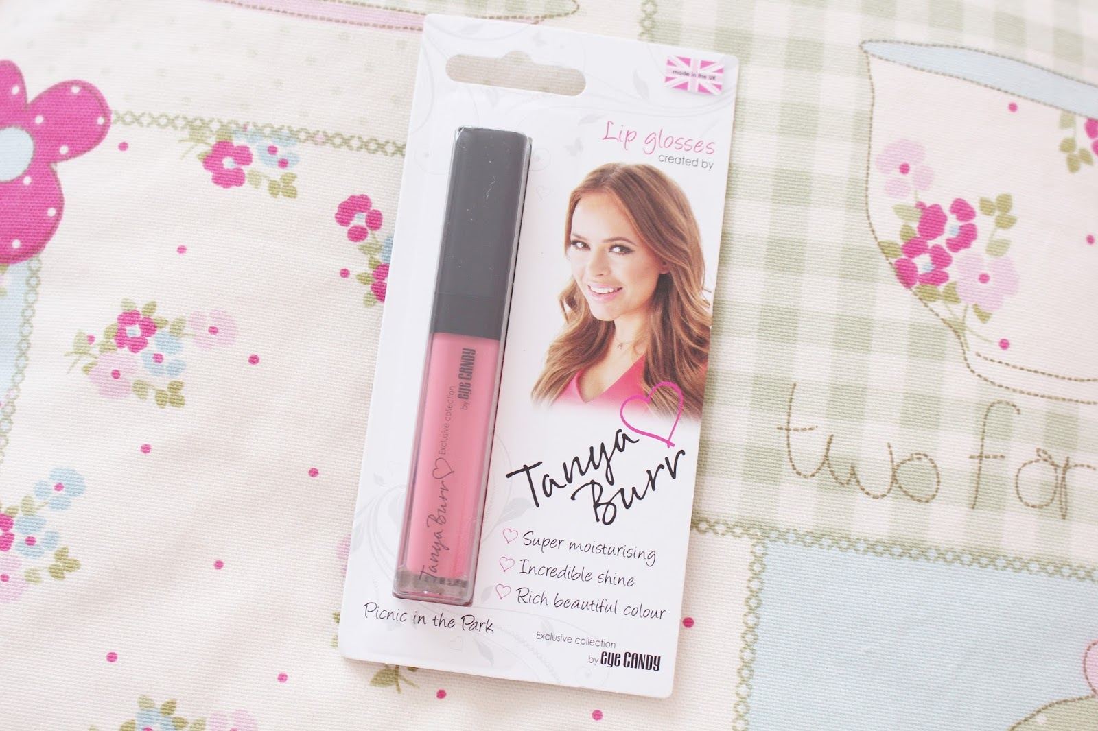 Tanya Burr Lipgloss Picnic in the Park Review