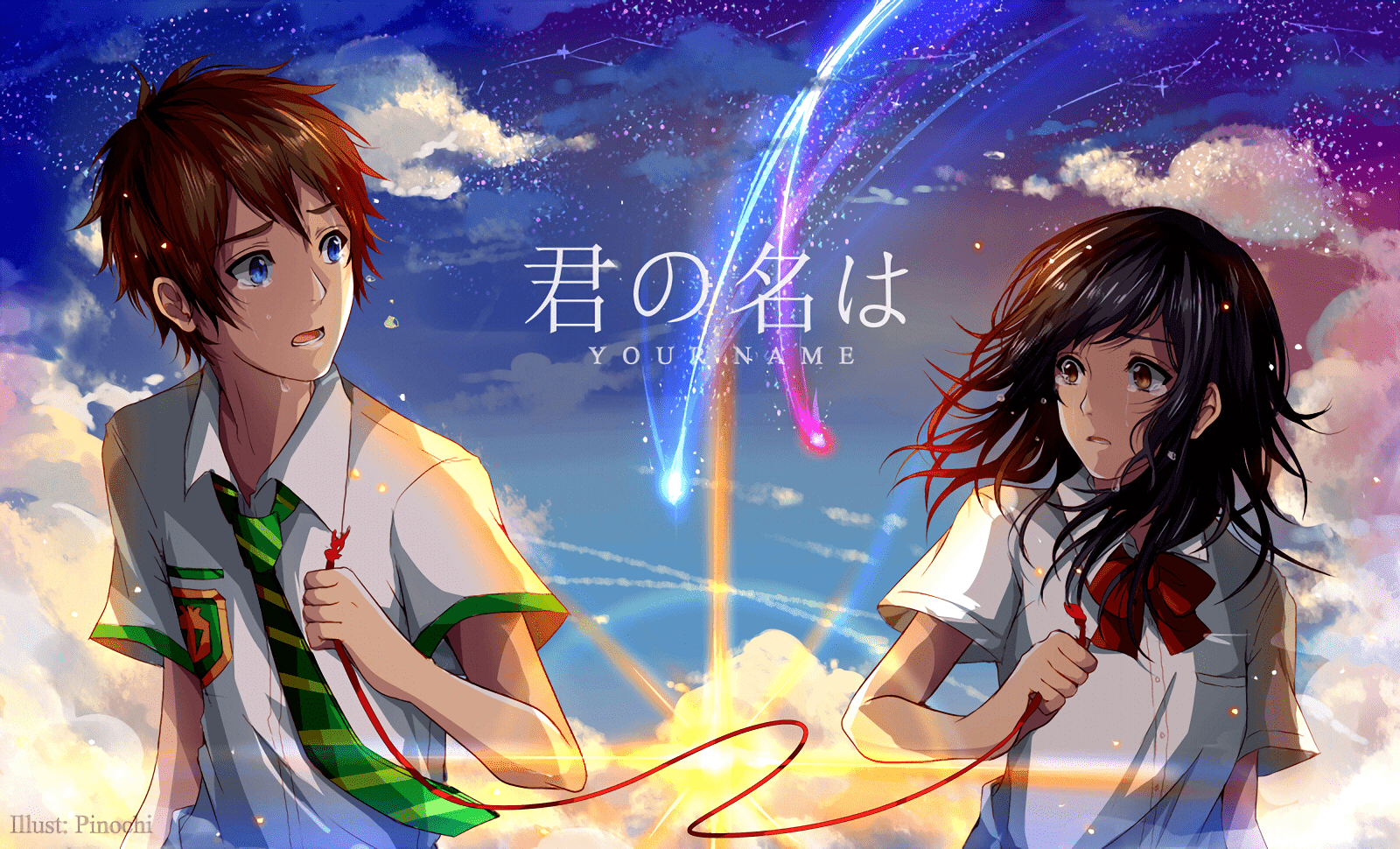 AowVN%2B%252849%2529 - [ Hình Nền ] Anime Your Name. - Kimi no Nawa full HD cực đẹp | Anime Wallpaper