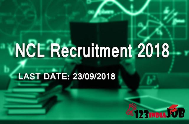 Northern Coalfields Limited(NCL) recruitment 2018