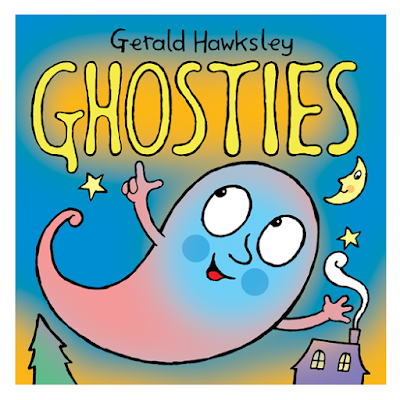 Cover Illustration for Ghosties A Free Kindle eBook for Halloween