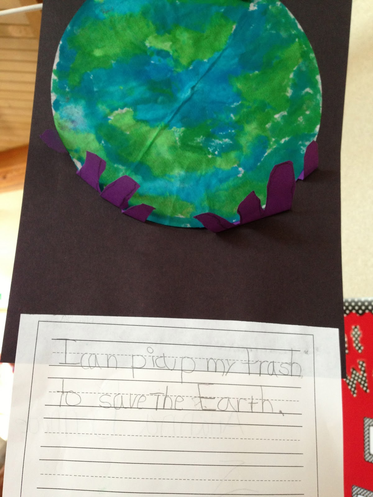 Earth Day Art And Writing
