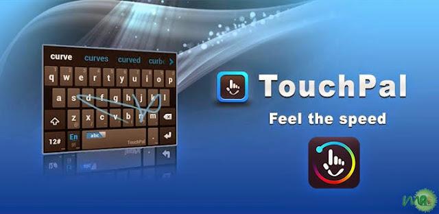 6 Aplikasi keyboard android terbaik dan paling recomended - Touchpal