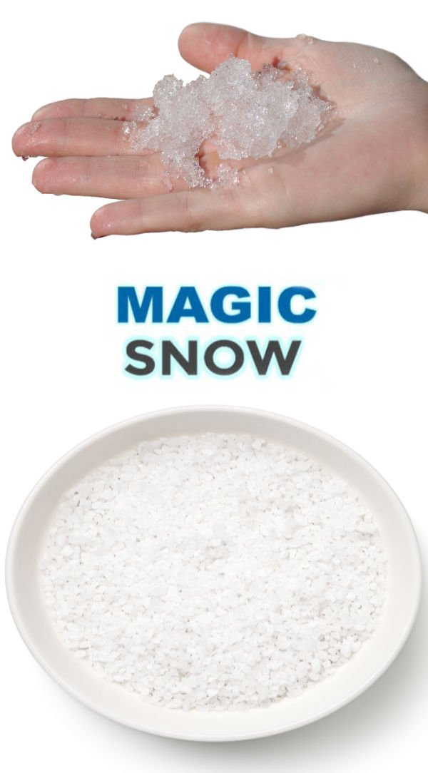 """Wow kids of all ages and make snow that erupts!  """"cool"""" science meets winter fun with this simple activity! #magicsnow #magicsnowrecipe #eruptingsnowballs #eruptingsnow #snowrecipesforkids #snowrecipe #snow #bakingsodasnow #growingajeweledrose #activitiesforkids"""