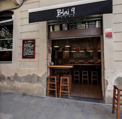 Bar Blai 9 de Barcelona