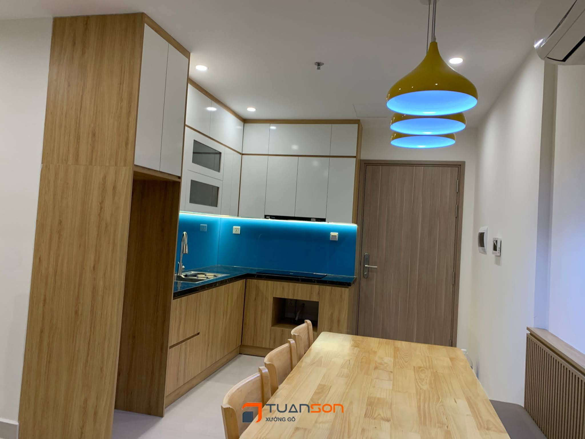 Hoàn thành bàn giao công trình nội thất S2.16-xx24 (2PN+1) Vinhomes Ocean Park
