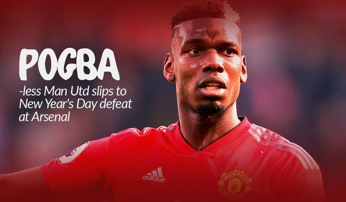 Man Utd Star Paul Pogba Begins Injury Rehab After Surgery (Photos)