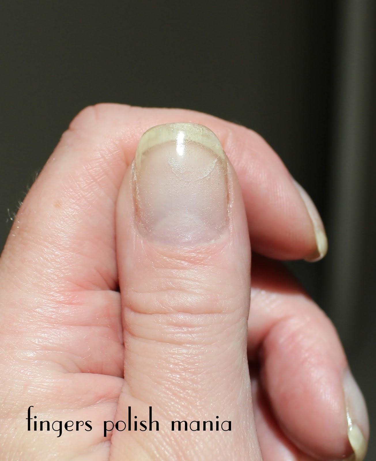 fingers polish mania: EZ Dip Gel Nails Clear Version