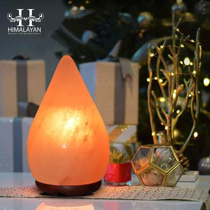 Himalayan Glow Natural Himalayan Salt Lamp, Crystal Salt Lamp