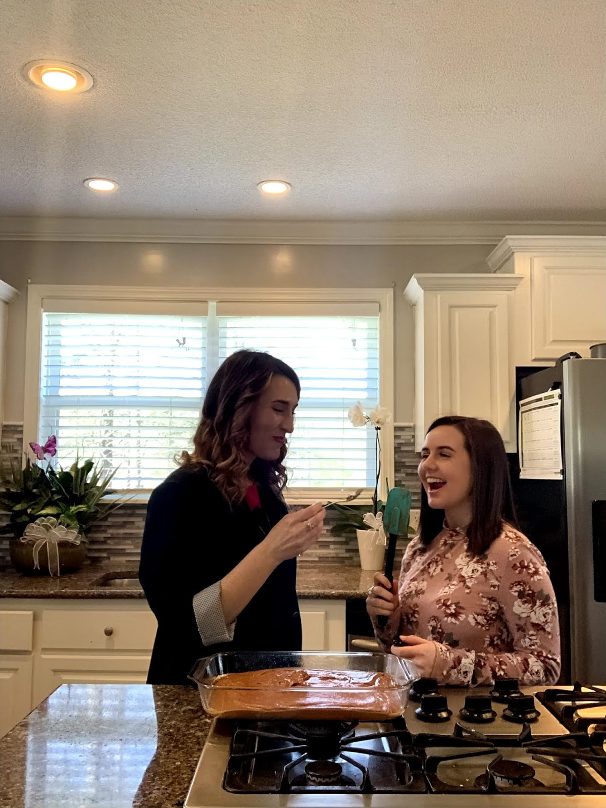 Laura Mintz of Illuminate Blog Reflects on Losing Her Mom and Makes Homemade Brownies with her daughter