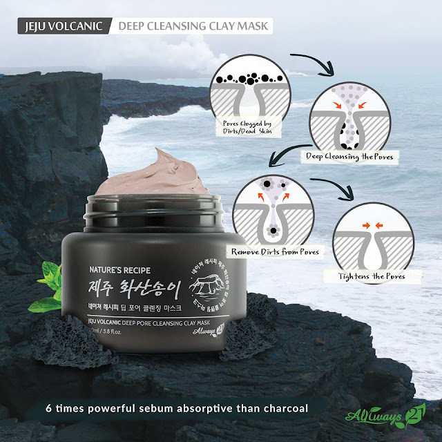 Always21 Jeju Volcanic Deep Pore Cleansing Clay Mask