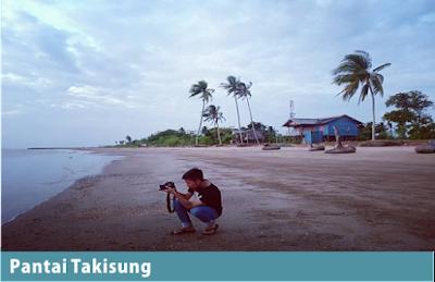 Pantai Murah di kalsel Takisung Beach