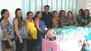 Projeto bebê da cidadania faz entregas de kits de enxoval
