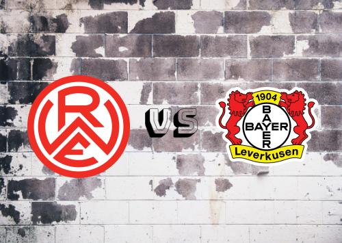 Rot-Weiss Essen vs Bayer Leverkusen  Resumen
