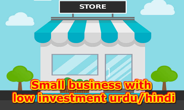 Small business with low investment urdu/hindi