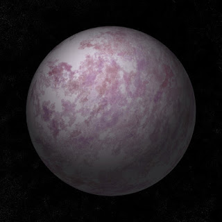The purple planet made with this code.