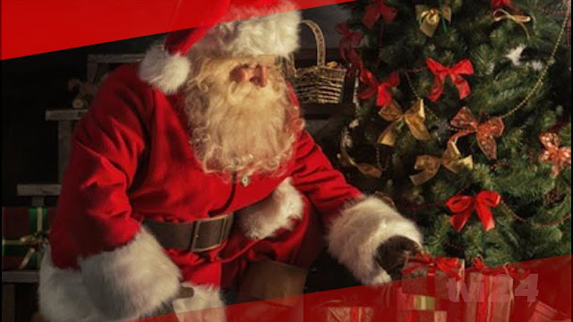 Descubra quando o Pai Natal estará prestes a chegar à sua cidade