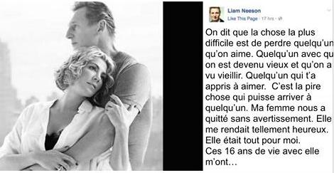 6 ans après la mort de sa femme, il publie ce message fort sur Facebook… Un hommage touchant !