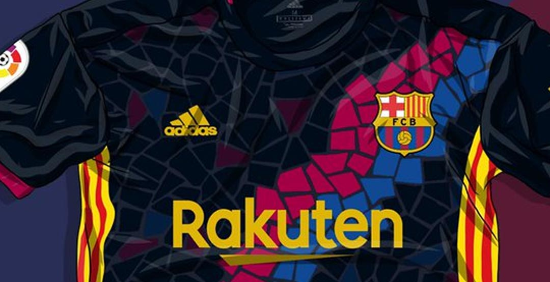 Awesome Adidas Fc Barcelona Gaudi Kit Concept By Casa Bruni Footy Headlines