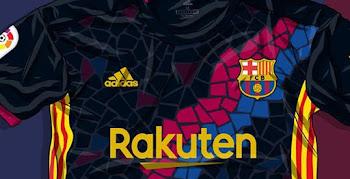 0e3a85b55cb Awesome Adidas FC Barcelona Gaudi Kit Concept by Casa Bruni