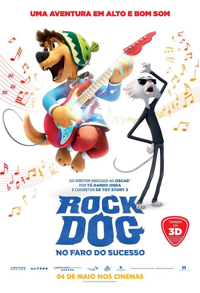 Capa Rock Dog No Faro do Sucesso Torrent Dublado 720p 1080p 5.1 Baixar