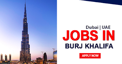 Job Vacancies in Burj Khalifa Dubai