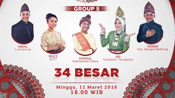 Liga Dangdut Indonesia Grup 5 Tadi Malam 11 Maret 2018
