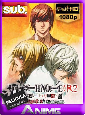 Death Note Rewrite 2: Los sucesores de L (2009) [Subtitulado] [1080p] [GoogleDrive] AioriaHD