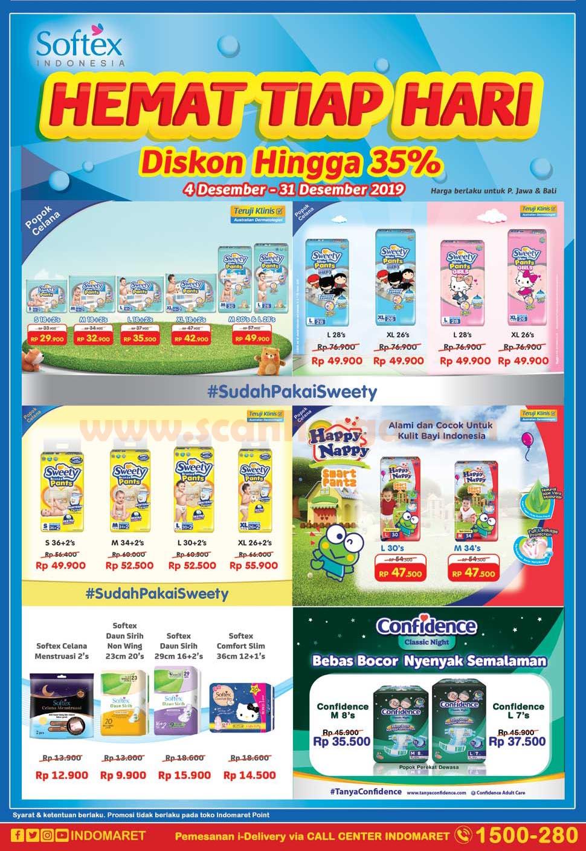 Promo Indomaret Produk Pampers Sweety Periode 4 31 Desember 2019 Scanharga