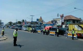 Jalur Pantura Indramayu Masih Lancar