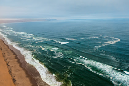 Skeleton Coast Pantai Tengkorak Namibia