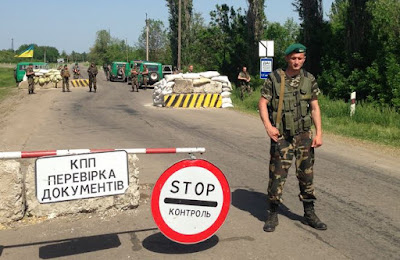 The checkpoints to the occupied territory of the Donbass are closing due to shellings
