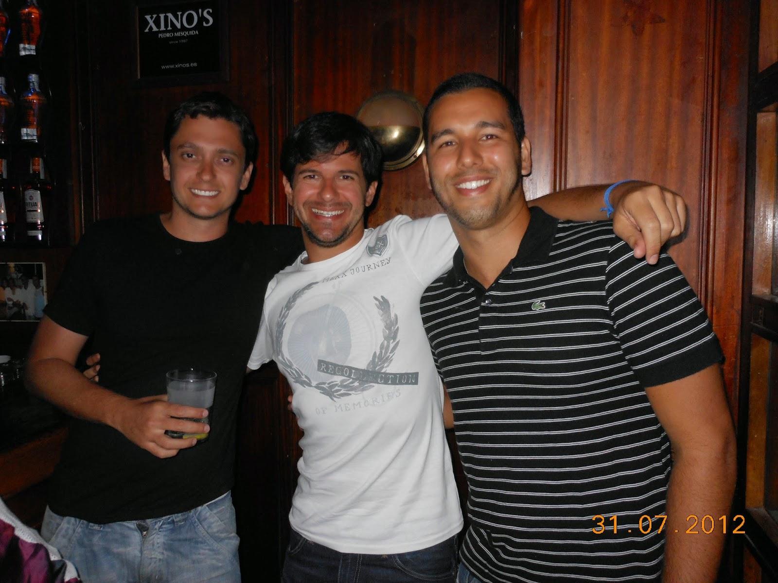 Em um dos bares depois de beber de graça - Palma de Maiorca - Praia - Espanha