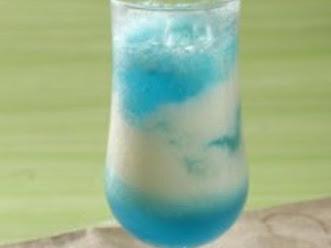 Cara Membuat Punch Sirsak Pepsi Blue Ocean