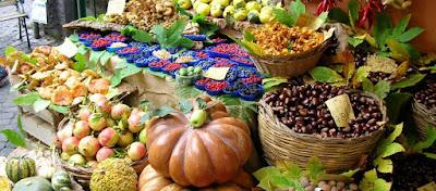 Specialita' culinarie suddivise per regione