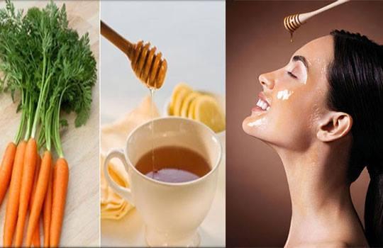 ماسك الجزر والعسل لتغذية البشرة المجهدة وترطيبها