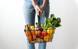 Woman Harvesting Veggies