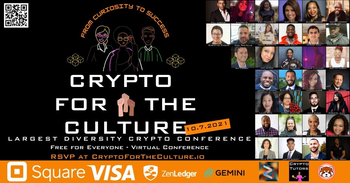 First-Ever Cryptocurrency Diversity Conference Launches on October 7th