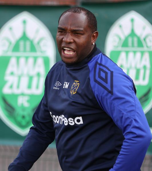 Cape Town City coach Benni McCarthy
