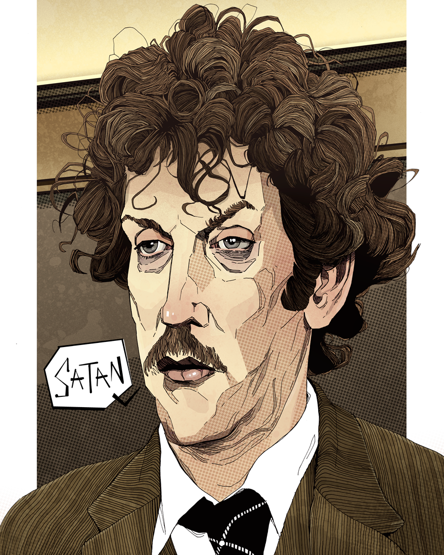 artwork Donald Sutherland in Animal House