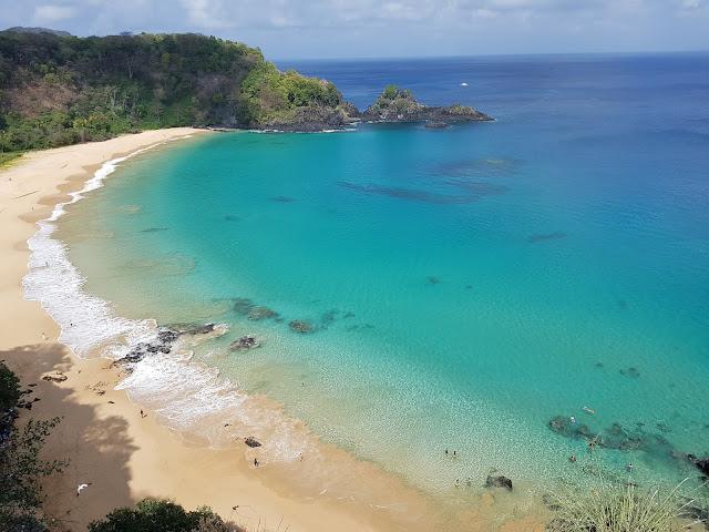 Praia do Sancho - Eleita 3 vezes a mais bonita do Mundo - Fernando de Noronha